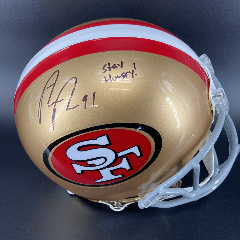 PCC - 49ers Arik Armstead Signed Proline Helmet with