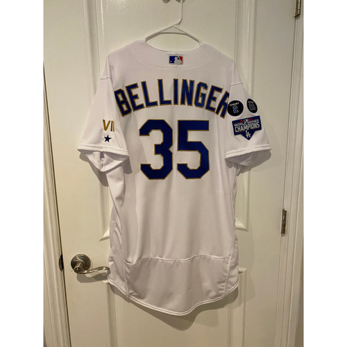 Photo of PRESALE - Cody Bellinger Special-Edition Home Opening Weekend Gold-Outlined Team-Issued Jersey