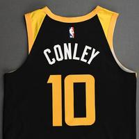 Mike Conley - Utah Jazz - Game-Worn City Edition Jersey - Scored 20 Points - 2020-21 NBA Season