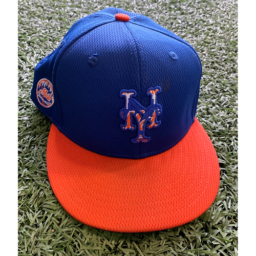 Photo of Team Issued Blue Hat - #33 - 2021 Spring Training