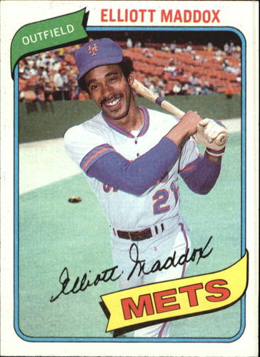 Photo of 1980 Topps #707 Elliott Maddox