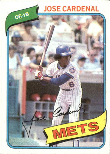 Photo of 1980 Topps #512 Jose Cardenal