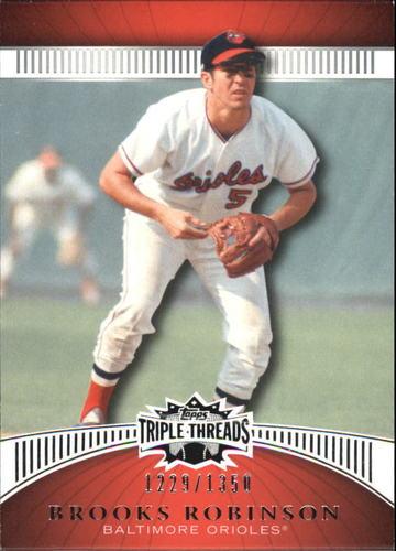 Photo of 2010 Topps Triple Threads #23 Brooks Robinson