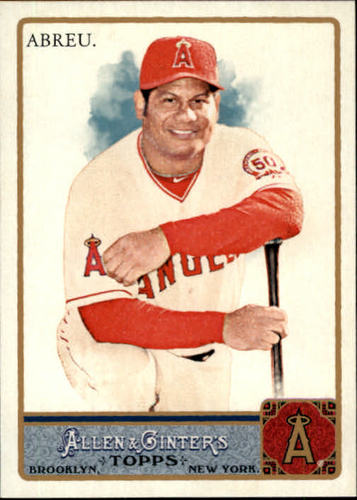 Photo of 2011 Topps Allen and Ginter #218 Bobby Abreu
