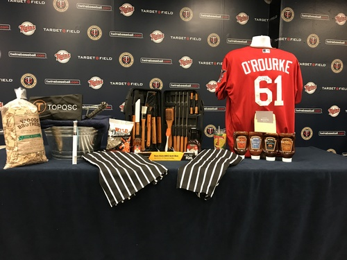 2017 Twins Favorite Things Auction: Ryan O'Rourke Favorite Things Basket