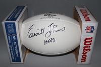 NFL - CHIEFS EMMITT THOMAS SIGNED PANEL BALL