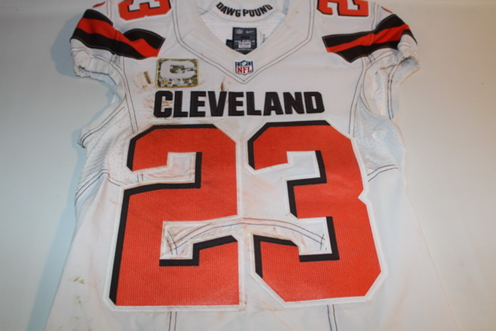 official photos 6039f a4413 NFL Auction | STS - BROWNS JOE HADEN GAME WORN BROWNS JERSEY ...