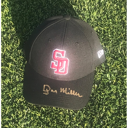 Photo of Dyar Miller Autographed and Game-Used Stoneman Douglas Eagles Cap