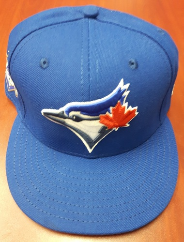 Photo of CHARITY AUCTION: Authenticated Game Used #42 Cap - John Gibbons (May 3, 2018). Size 7 1/2