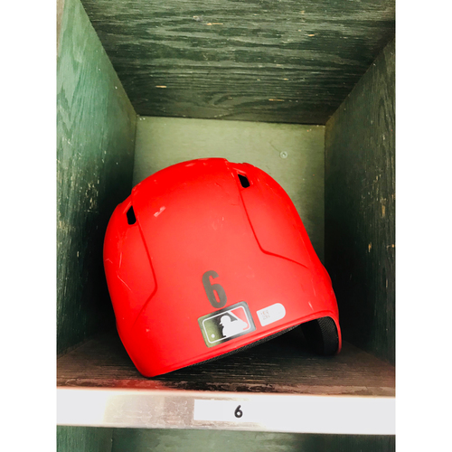 Photo of 2018 David Peralta Team-Issued Batting Helmet