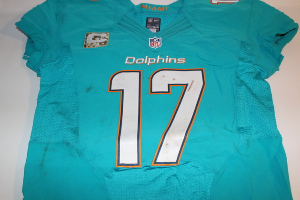 check out 30fdc aa4a6 NFL Auction | STS - DOLPHINS RYAN TANNEHILL GAME WORN ...