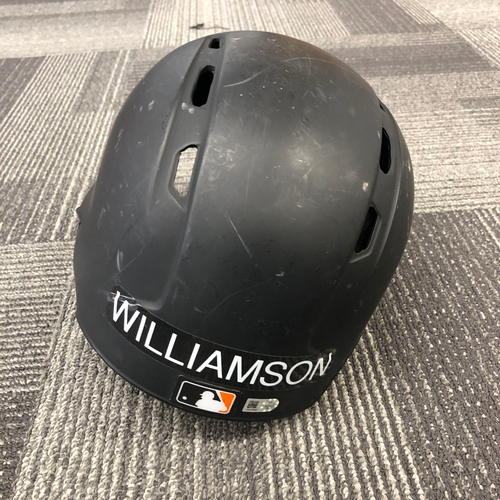 Photo of 2017 Game Used Batting Helmet worn by #51 Mac Williamson - Size 7 3/8