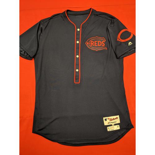Derek Johnson -- Game-Used Jersey/Pants -- 1911 Throwback worn 5/5/19 -- Jersey Size - 48; Pants Size - 38-41-19