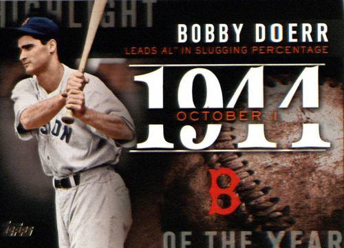 Photo of 2015 Topps Highlight of the Year #H39 Bobby Doerr