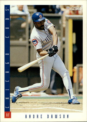 Photo of 1993 Score #552 Andre Dawson