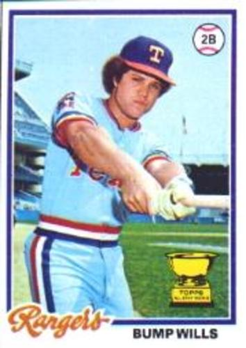 Photo of 1978 Topps #23 Bump Wills