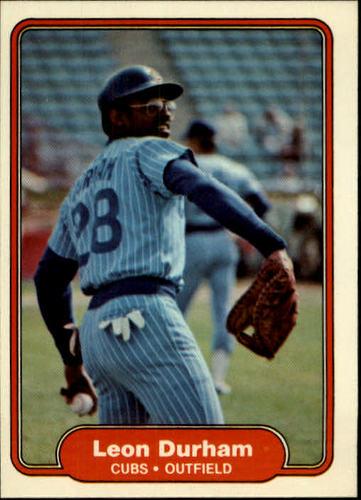 Photo of 1982 Fleer #595 Leon Durham