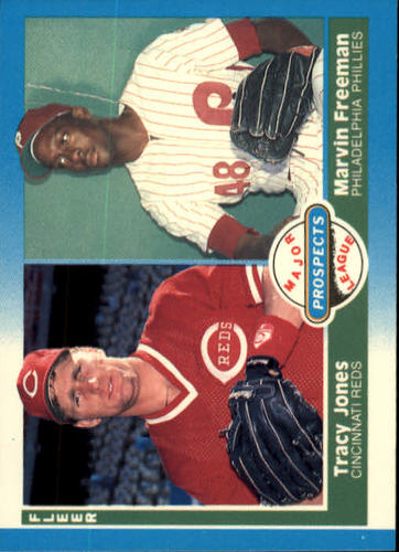 Photo of 1987 Fleer #651 Tracy Jones RC/Marvin Freeman RC