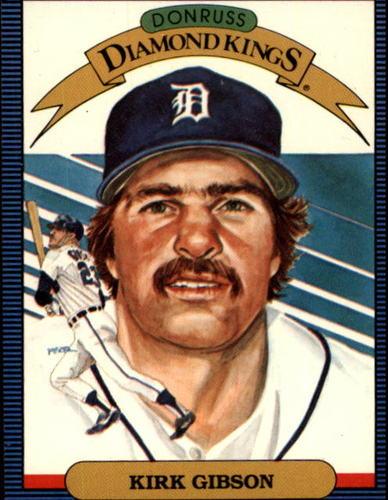 Photo of 1986 Donruss #1 Kirk Gibson DK