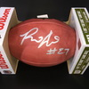 NFL - BUCCANEERS RB RONALD JONES SIGNED AUTHENTIC FOOTBALL W/ #27 INSCRIPTION