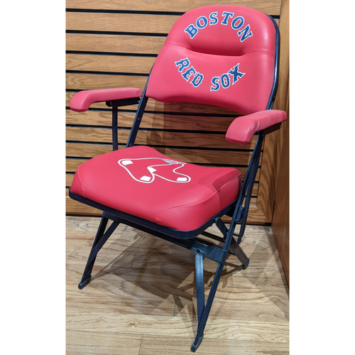 Photo of Dustin Pedroia Game Used Locker Room Chair