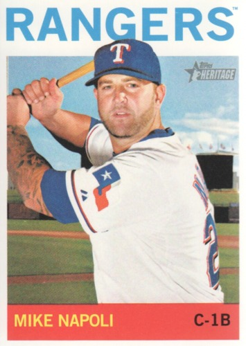 Photo of 2013 Topps Heritage #78 Mike Napoli