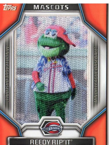 Photo of 2015 Topps Pro Debut Minor League Mascots #MLM10 Reedy Rip'It