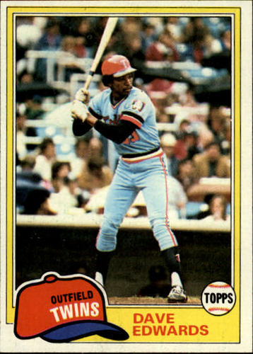 Photo of 1981 Topps #386 Dave Edwards
