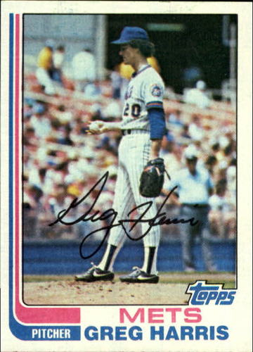 Photo of 1982 Topps #783 Greg Harris RC