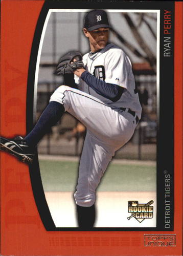 Photo of 2009 Topps Unique Red #172 Ryan Perry
