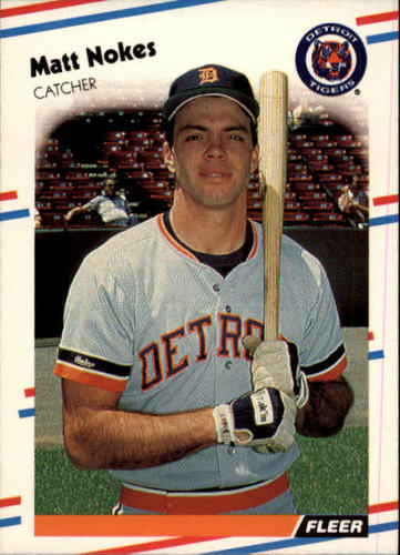 Photo of 1988 Fleer #66 Matt Nokes RC