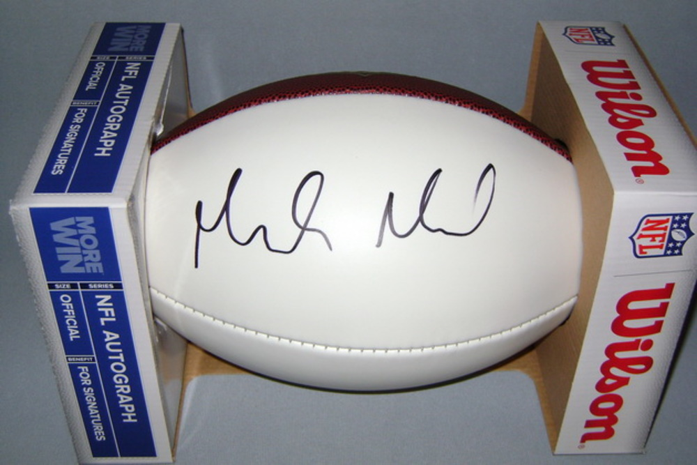 NFL - COLTS MARLON MACK SIGNED PANEL BALL