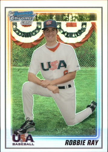 Photo of 2010 Bowman Chrome 18U USA Baseball Refractor Robbie Ray
