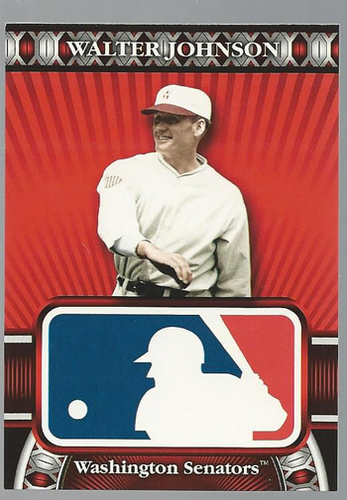 Photo of 2010 Topps Logoman HTA #36 Walter Johnson