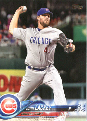 Photo of 2018 Topps #171 John Lackey