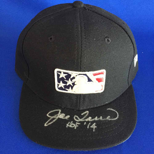 Photo of UMPS CARE AUCTION: Joe Torre Signed Stars and Stripes Cap - Size 7 1/4 - Not MLB Authenticated