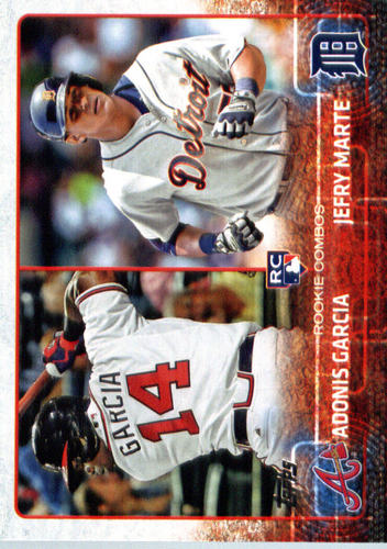 Photo of 2015 Topps Update #US108 Adonis Garcia RC/Jefry Marte RC