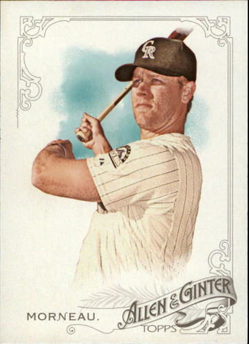 Photo of 2015 Topps Allen and Ginter #301 Justin Morneau