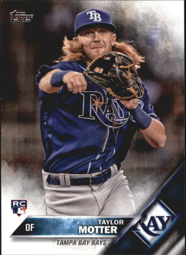 Photo of 2016 Topps Update #US151 Taylor Motter RC