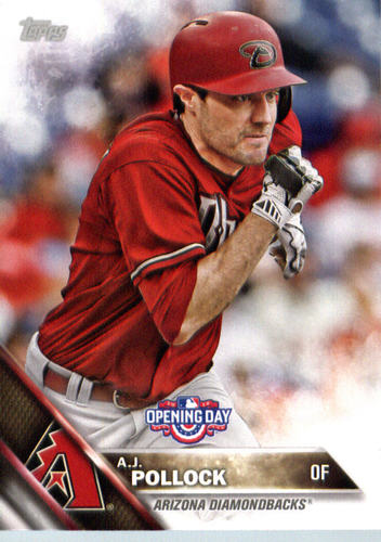 Photo of 2016 Topps Opening Day #OD79 A.J. Pollock