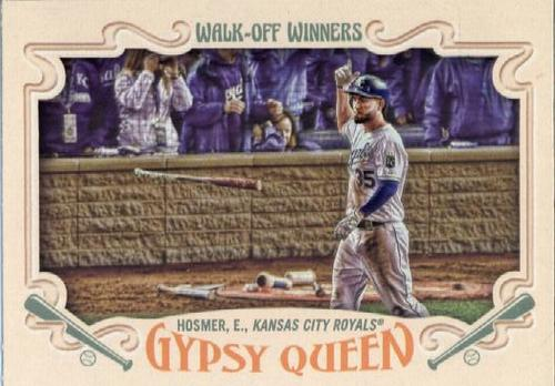 Photo of 2016 Topps Gypsy Queen Walk Off Winners #GWO1 Eric Hosmer