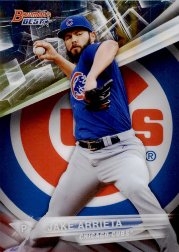 Photo of 2016 Bowman's Best #41 Jake Arrieta