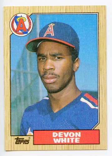Photo of 1987 Topps #139 Devon White RC