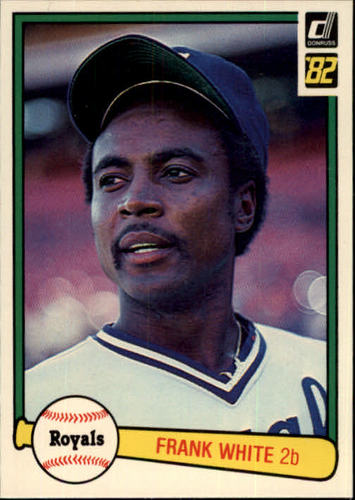 Photo of 1982 Donruss #286 Frank White