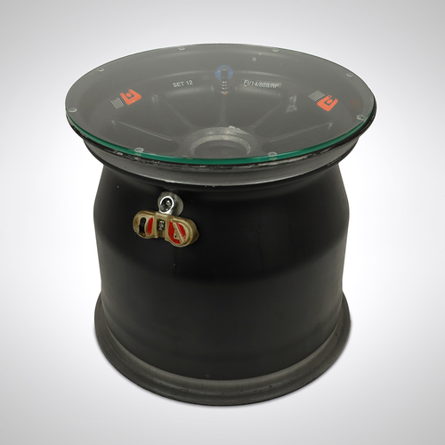 Photo of BWT Racing Point F1 Team 2014 Front Wheel Rim Table