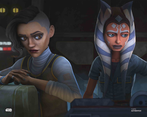Ahsoka Tano and Rafa Martez