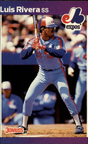 Photo of 1989 Donruss #578 Luis Rivera