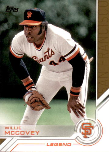 Photo of 2017 Topps Salute #S174 Willie McCovey