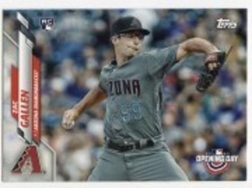 Photo of 2020 Topps Opening Day #16 Zac Gallen RC