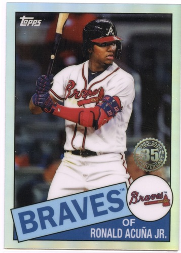 Photo of 2020 Topps Chrome '85 Topps #85TC25 Ronald Acuna Jr.